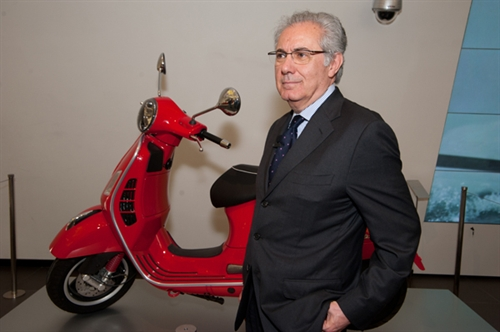 Roberto Colaninno, president and CEO of Piaggio Group